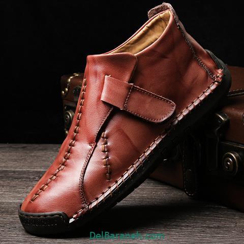 کفش چرم مردانه و پسرانه (۷۸)