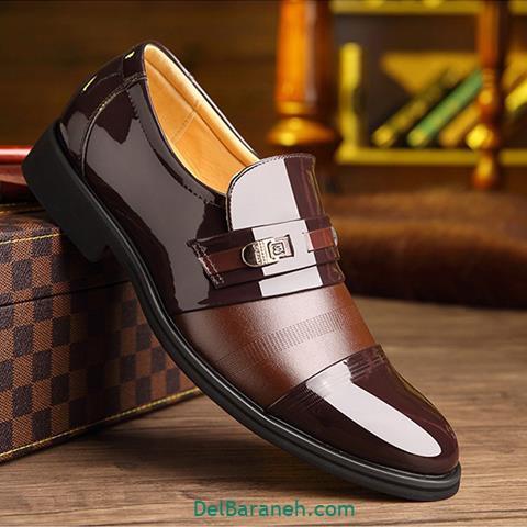 کفش چرم مردانه و پسرانه (۸۶)