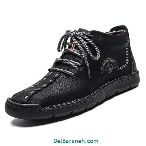 کفش چرم مردانه و پسرانه (۹)