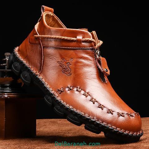 مدل کفش چرم | ۱۰۰ عکس از کفش های شیک چرم مردانه