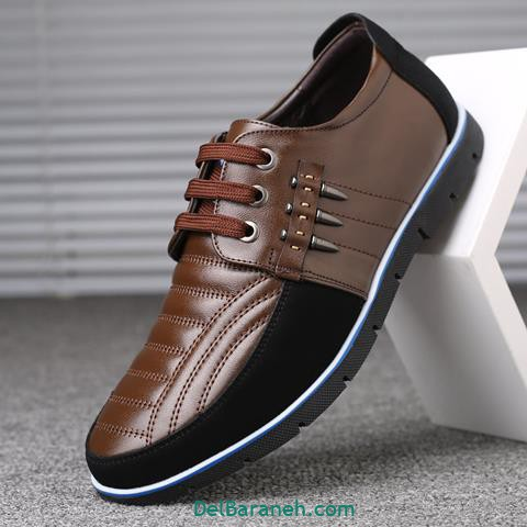 کفش چرم مردانه و پسرانه (۹۲)