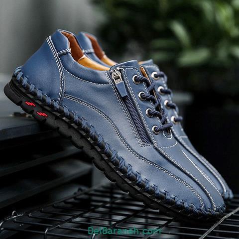 کفش چرم مردانه و پسرانه (۹۳)
