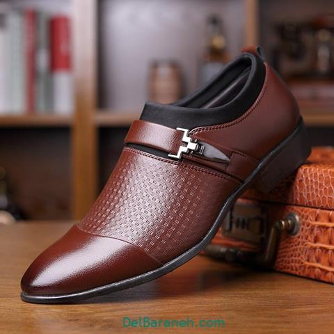 کفش چرم مردانه و پسرانه (۹۶)