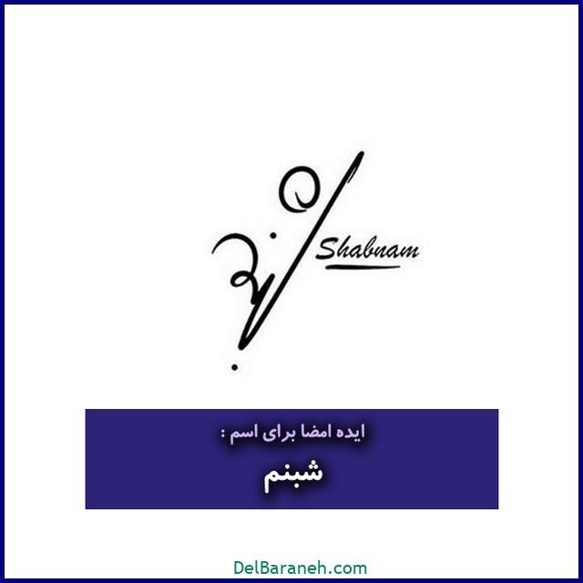 عکس امضا با اسم شبنم (۲۱)