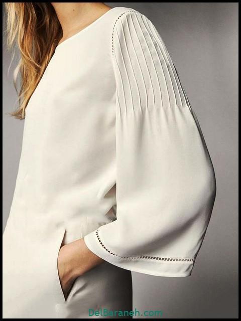مدل آستین مانتو | ۷۰ ایده شیک و خاص برای آستین مانتو