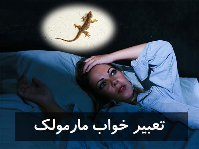 تعبیر خواب مارمولک
