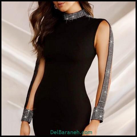 مدل آستین لباس مجلسی | ۱۲۰ نوع آستین مناسب لباس مجلسی