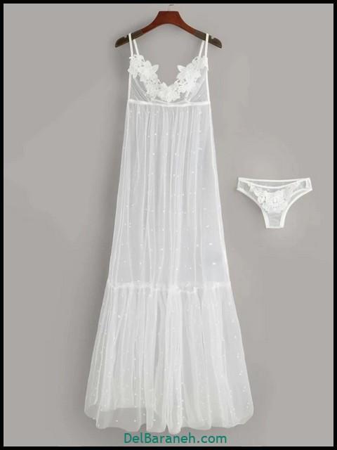 لباس خواب عروس | ۱۰۰ مدل لباس خواب زنانه شیک و جدید