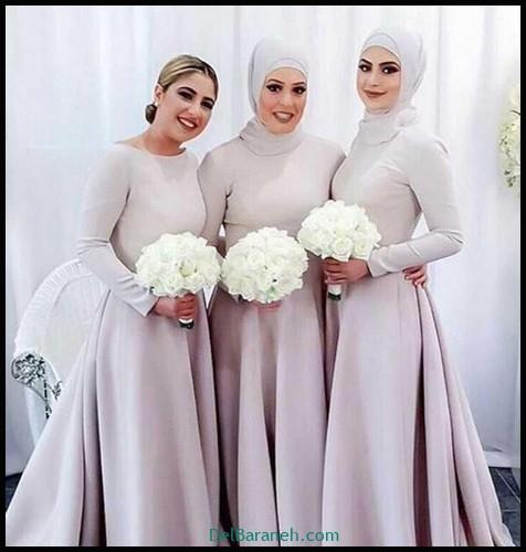 مدل لباس زیبا برای ساقدوش عروس (۱۱)