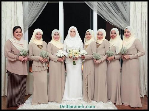 مدل لباس زیبا برای ساقدوش عروس (۱۲)