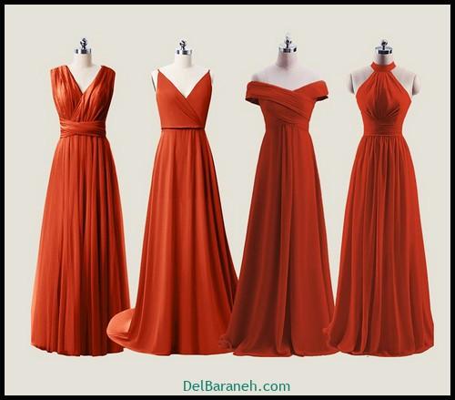 مدل لباس زیبا برای ساقدوش عروس (۲۰)