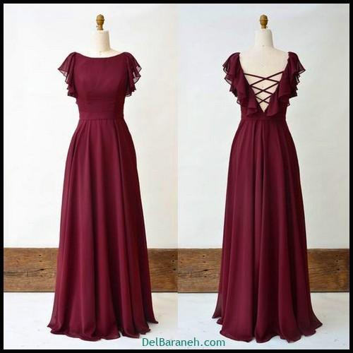 مدل لباس زیبا برای ساقدوش عروس (۲۶)