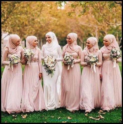 مدل لباس زیبا برای ساقدوش عروس (۴)