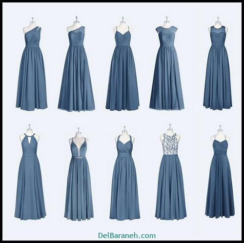 مدل لباس زیبا برای ساقدوش عروس (۴۲)