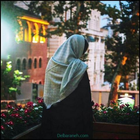 عکس دخترانه غمگین بدون چهره (۱۰)