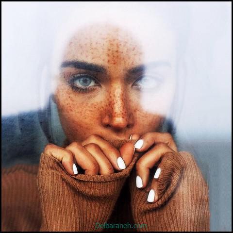 عکس دخترانه غمگین بدون چهره (۵)