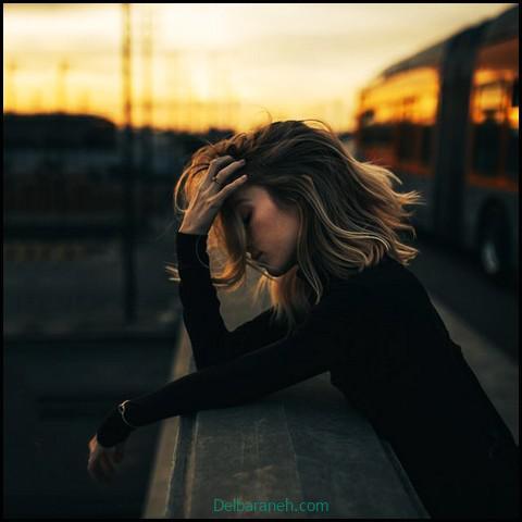 عکس دخترانه غمگین بدون چهره (۶)