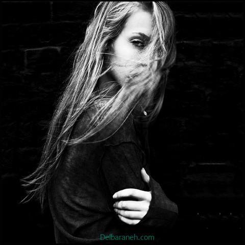 عکس دختر غمگین خوشگل (۹)