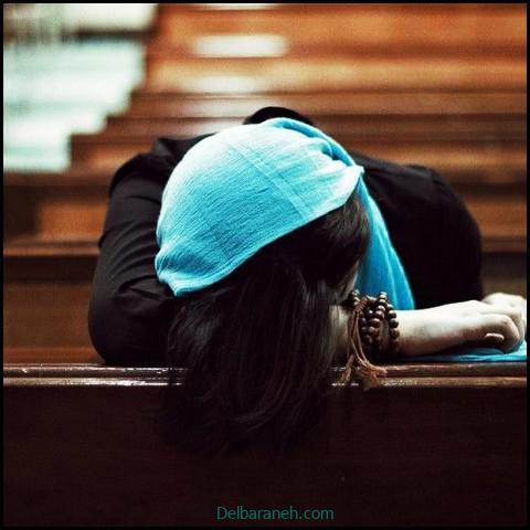 عکس غمگین دخترانه سیاه و سفید (۵)