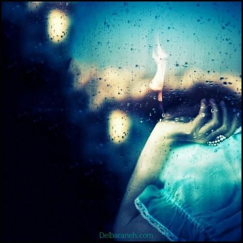 عکس غمگین دخترانه سیاه و سفید (۶)
