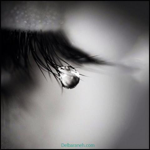 عکس غمگین دخترانه سیاه و سفید (۹)