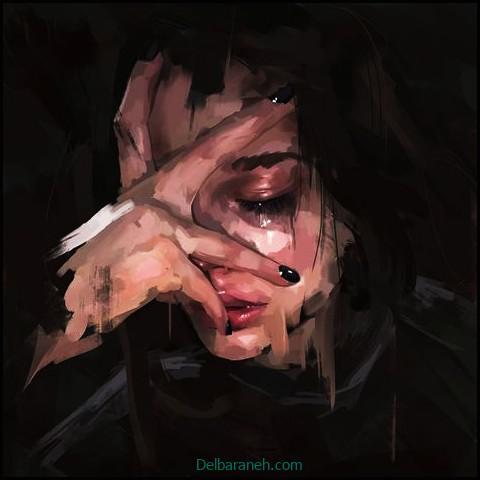 عکس غمگین دخترانه (۱)