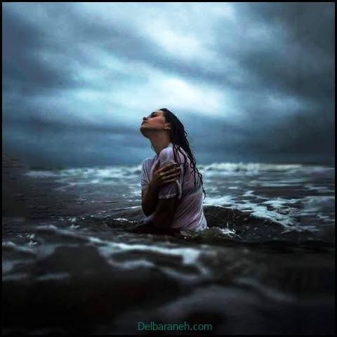 عکس غمگین دخترانه (۶)