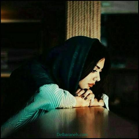 عکس غمگین دختر برای پروفایل (۷)